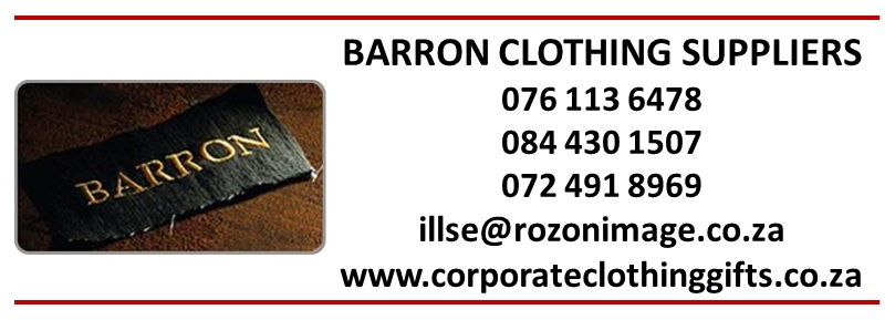 Barron Clothing @ Barron Clothing Traders