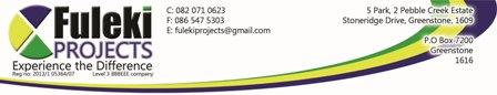 Fuleki Projects Pty) Ltd
