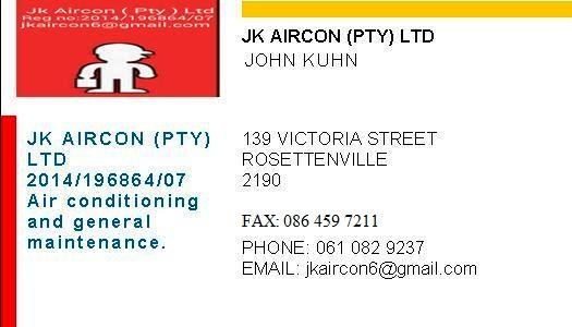 jk aircon (pty) ltd