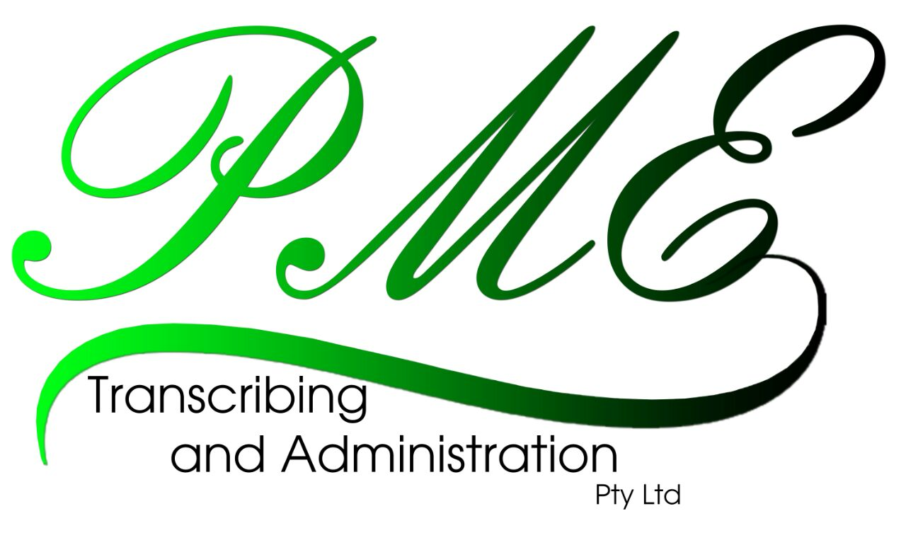 PME Transcribing and Administration Pty Ltd
