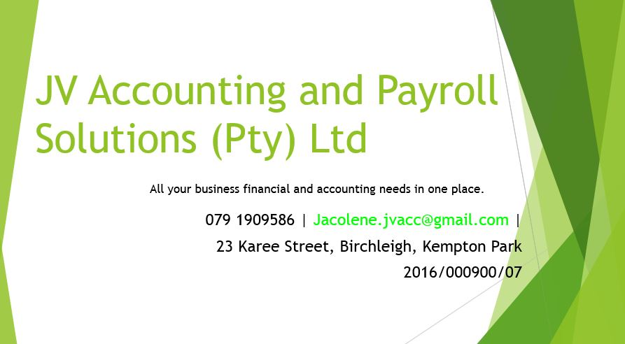JV Accounting and payroll Solutions
